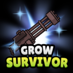 Grow Survivor – Idle Clicker  (Mod)
