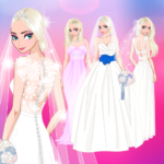 ❄ Icy Wedding ❄ Winter frozen Bride dress up game  (Mod)