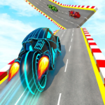 Mega Ramp Light Bike Stunts: New Bike Stunt Games  (Mod)