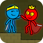 Red and Blue Stickman : Animation Parkour  1.3.1 (Mod)