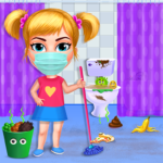 Big Home Makeover – House Cleaning Game for Girls  (Mod)