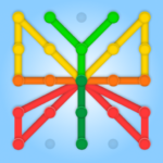 GeoBoard relaxing puzzle game drawing lines shapes  (Mod)