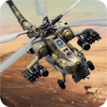 Helicopter Combat Gunship – Helicopter Games 2020  (Mod)