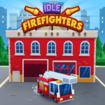 Idle Firefighter Tycoon – Fire Emergency Manager  (Mod)