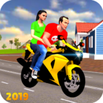 Offroad Bike Taxi Driver: Motorcycle Cab Rider (Mod)