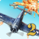 AirAttack 2 – WW2 Airplanes Shooter  (Mod)