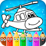 Coloring pages for children : transport 1.1.9 (Mod)