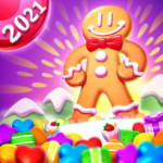 Cookie World — Clash of Cookie & Colorful Puzzle  (Mod)