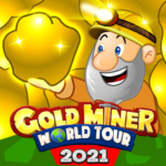 Gold Miner World Tour: Gold Rush Puzzle RPG Game  (Mod)