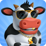 Idle Cow Clicker Games: Idle Tycoon Games Offline  3.1.4 (Mod)