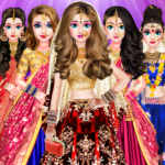 Indian Bride Stylist Dressup & Beauty Makeup Game  (Mod)