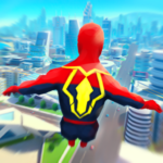 Super Heroes Fly: Sky Dance – Running Game  (Mod)