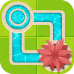 Water Connect Puzzle – Logic Brain Game (Mod)