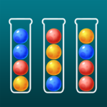 Color Ball Sort Puzzle – Dino Bubble Sorting Game  (Mod)