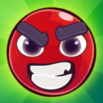Red Bounce Ball: Jumping and Roller Ball Adventure  (Mod)