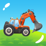 Build a House with Building Trucks! Games for Kids  (Mod)