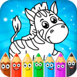 Coloring pages for children: animals  (Mod)