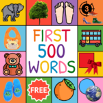 First Words Flashcards for baby/toddler/kids  (Mod)