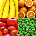 Fruit and Vegetables, Nuts & Berries: Picture-Quiz  (Mod)
