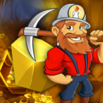 Mining Gold Rush – Casual Gold Miner  (Mod)