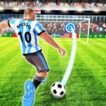 Real Football Player: Soccer Strike League Game  (Mod)